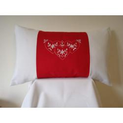 Cuscino rettangolare San Valentino